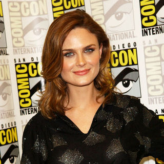Emily Deschanel in 2009 Comic Con International - Day 2