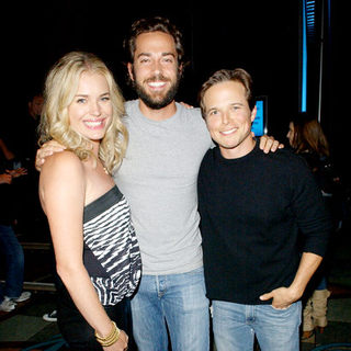 Rebecca Romijn, Zachary Levi, Scott Wolf in 2009 Comic Con International - Day 2