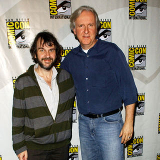 Peter Jackson, James Cameron in 2009 Comic Con International - Day 2