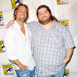 Josh Holloway, Jorge Garcia in 2009 Comic Con International - Day 3