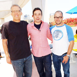 Carlton Cuse, Jimmy Fallon, Damon Lindelof in 2009 Comic Con International - Day 3