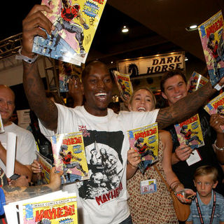 Tyrese Gibson in 2009 Comic Con International - Day 3
