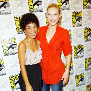 Anna Torv, Jasika Nicole in 2009 Comic Con International - Day 3