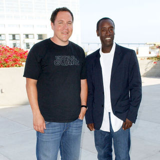Jon Favreau, Don Cheadle in 2009 Comic Con International - Day 3