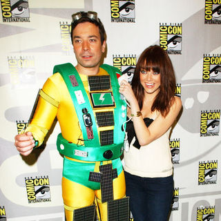 Jimmy Fallon, Emma Stone in 2009 Comic Con International - Day 3
