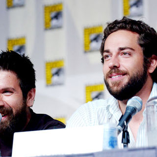 Joshua Gomez, Zachary Levi in 2009 Comic Con International - Day 3