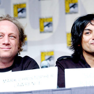 Scott Krinsky, Vik Sahay in 2009 Comic Con International - Day 3