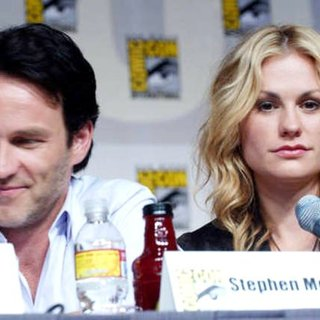 Anna Paquin, Stephen Moyer in 2009 Comic Con International - Day 3