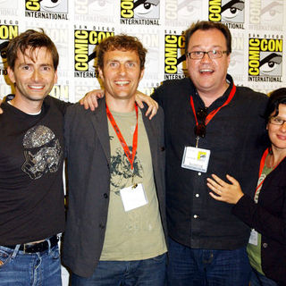 David Tennant in 2009 Comic Con International - Day 4 - ALO-078781