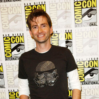 David Tennant in 2009 Comic Con International - Day 4 - ALO-078782