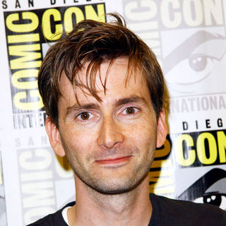 David Tennant in 2009 Comic Con International - Day 4 - ALO-078784