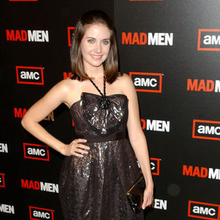 "Alison Brie in ""Mad Men"" Season Three Los Angeles Premiere - Arrivals"