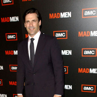 "Jon Hamm in ""Mad Men"" Season Three Los Angeles Premiere - Arrivals"