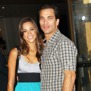 "Jana Kramer, Johnathon Schaech in ""A Perfect Getaway"" Los Angeles Premiere - Arrivals"