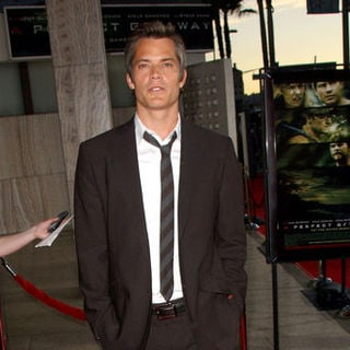 "Timothy Olyphant in ""A Perfect Getaway"" Los Angeles Premiere - Arrivals"