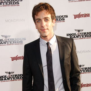 "B.J. Novak in ""Inglourious Basterds"" Los Angeles Premiere - Arrivals"