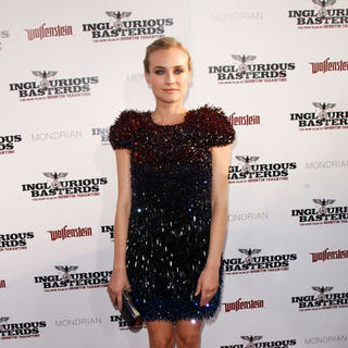 "Diane Kruger in ""Inglourious Basterds"" Los Angeles Premiere - Arrivals"