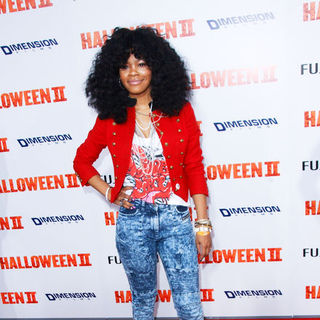 "Teyana Taylor in ""H2: Halloween 2"" Los Angeles Premiere - Arrivals"