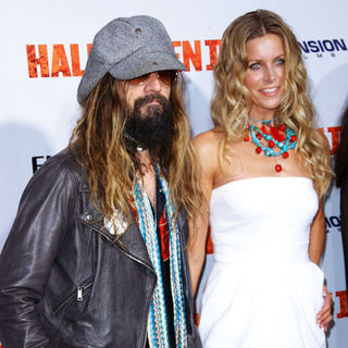 "Rob Zombie, Sheri Moon Zombie in ""H2: Halloween 2"" Los Angeles Premiere - Arrivals"