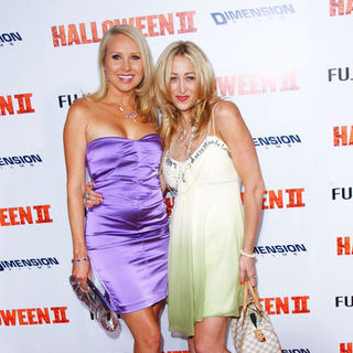 "Alana Curry, Jennifer Blanc in ""H2: Halloween 2"" Los Angeles Premiere - Arrivals"
