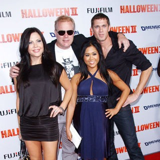 "Christa Campbell, Tim Sullivan, Trevor Wright, Kathryn Le in ""H2: Halloween 2"" Los Angeles Premiere - Arrivals"