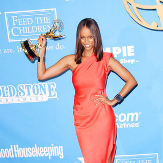 Tyra Banks in 36th Annual Daytime Emmy Awards - Press Room