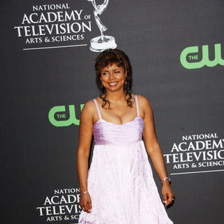 Debbi Morgan in 36th Annual Daytime EMMY Awards - Arrivals