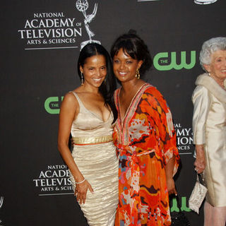 Victoria Rowell, Tonya Lee Williams in 36th Annual Daytime EMMY Awards - Arrivals