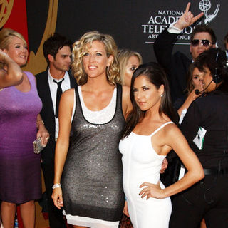 Laura Wright, Kelly Monaco in 36th Annual Daytime EMMY Awards - Arrivals