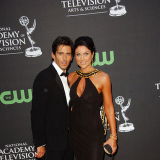 Brandon Beemer, Nadia Bjorlin in 36th Annual Daytime EMMY Awards - Arrivals