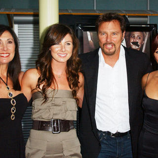 "Pamela Serpe, Vanessa Lee Evigan, Greg Evigan, Briana Evigan in ""Sorority Row"" Los Angeles Premiere - Arrivals"