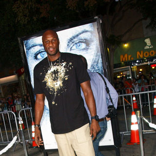 "Lamar Odom in ""Whiteout"" Los Angeles Premiere - Arrivals"