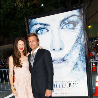 "Gabriel Macht, Jacinda Barrett in ""Whiteout"" Los Angeles Premiere - Arrivals"
