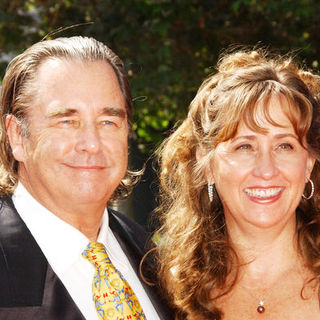 Beau Bridges, Wendy Treece in 61st Annual Primetime Creative Arts Emmy Awards - Arrivals