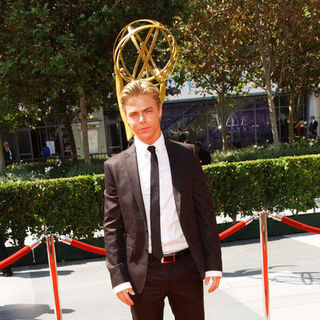 Derek Hough in 61st Annual Primetime Creative Arts Emmy Awards - Arrivals