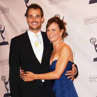 Mary Lynn Rajskub, Matthew Rolph in 61st Annual Primetime Creative Arts Emmy Awards - Press Room
