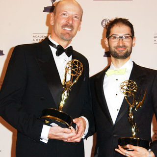 Lee Percy, Brian A. Kates in 61st Annual Primetime Creative Arts Emmy Awards - Press Room