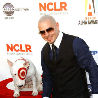 Pitbull in 2009 NCLR ALMA Awards - Arrivals