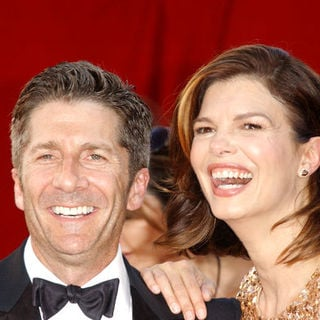 Leland Orser, Jeanne Tripplehorn in The 61st Annual Primetime Emmy Awards - Arrivals