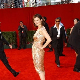 Jeanne Tripplehorn in The 61st Annual Primetime Emmy Awards - Arrivals
