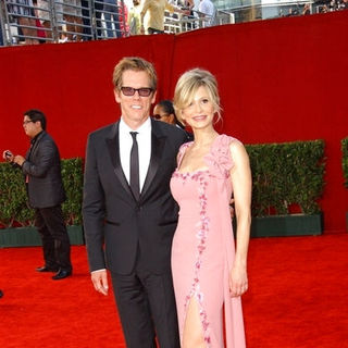Kevin Bacon, Kyra Sedgwick in The 61st Annual Primetime Emmy Awards - Arrivals