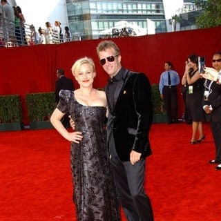 Patricia Arquette, Thomas Jane in The 61st Annual Primetime Emmy Awards - Arrivals