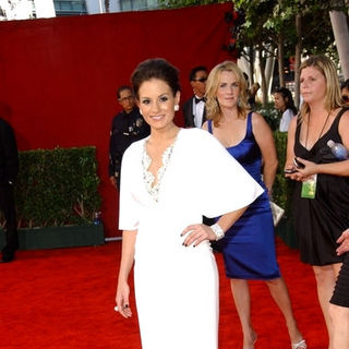 Kara DioGuardi in The 61st Annual Primetime Emmy Awards - Arrivals