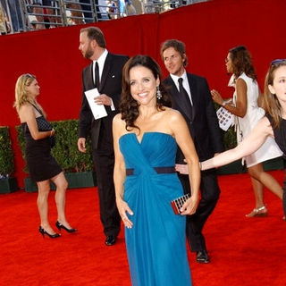 Julia Louis-Dreyfus in The 61st Annual Primetime Emmy Awards - Arrivals