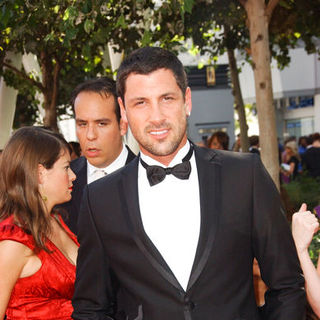 Maksim Chmerkovskiy in The 61st Annual Primetime Emmy Awards - Arrivals