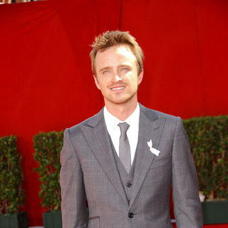 Aaron Paul in The 61st Annual Primetime Emmy Awards - Arrivals