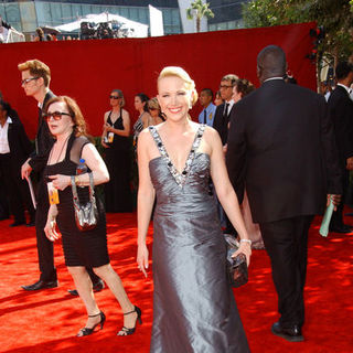 Adrienne Frantz in The 61st Annual Primetime Emmy Awards - Arrivals