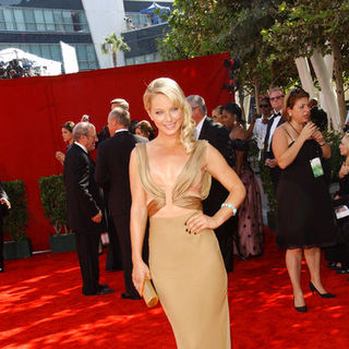 Anastasia Griffith in The 61st Annual Primetime Emmy Awards - Arrivals