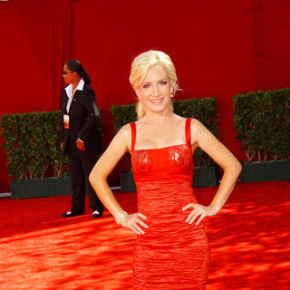 Angela Kinsey in The 61st Annual Primetime Emmy Awards - Arrivals