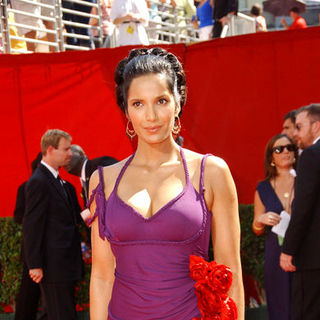 Padma Lakshmi in The 61st Annual Primetime Emmy Awards - Arrivals
